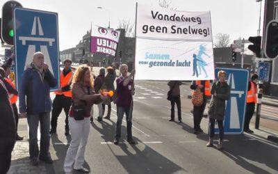 Prachtige actie en debat over Vondelweg