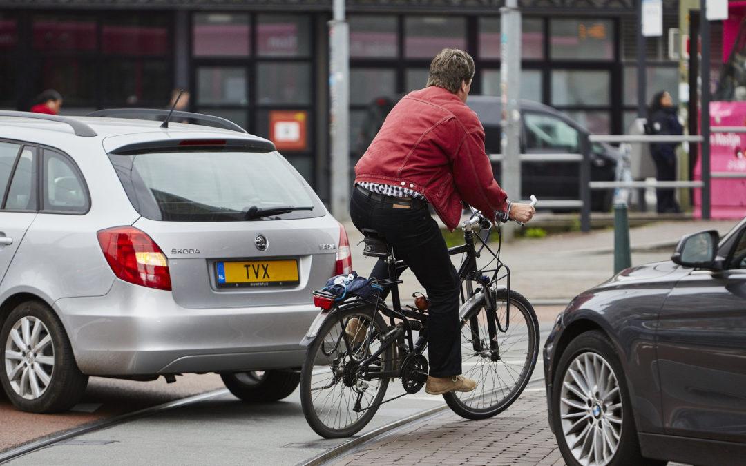 Verwijderen fietspaden wordt het nieuwe fietsbeleid