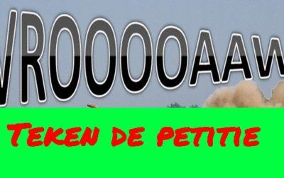 Petitie tegen de herrie van circuit Zandvoort