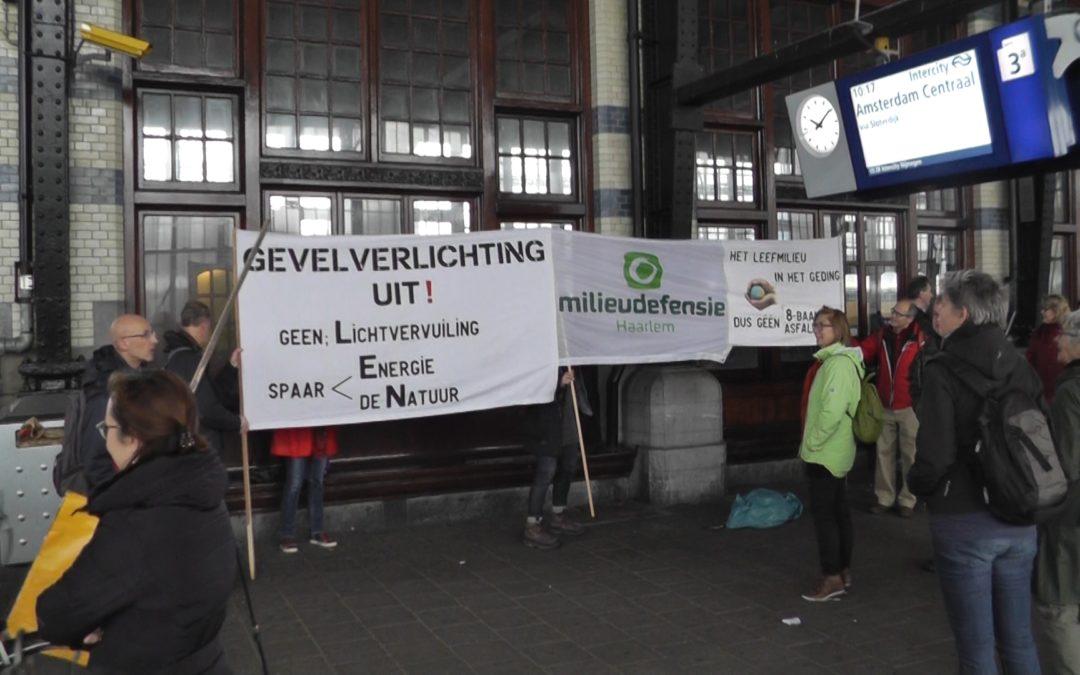 Klimaatparade Amsterdam voorafgaand aan belangrijke klimaattop in Parijs
