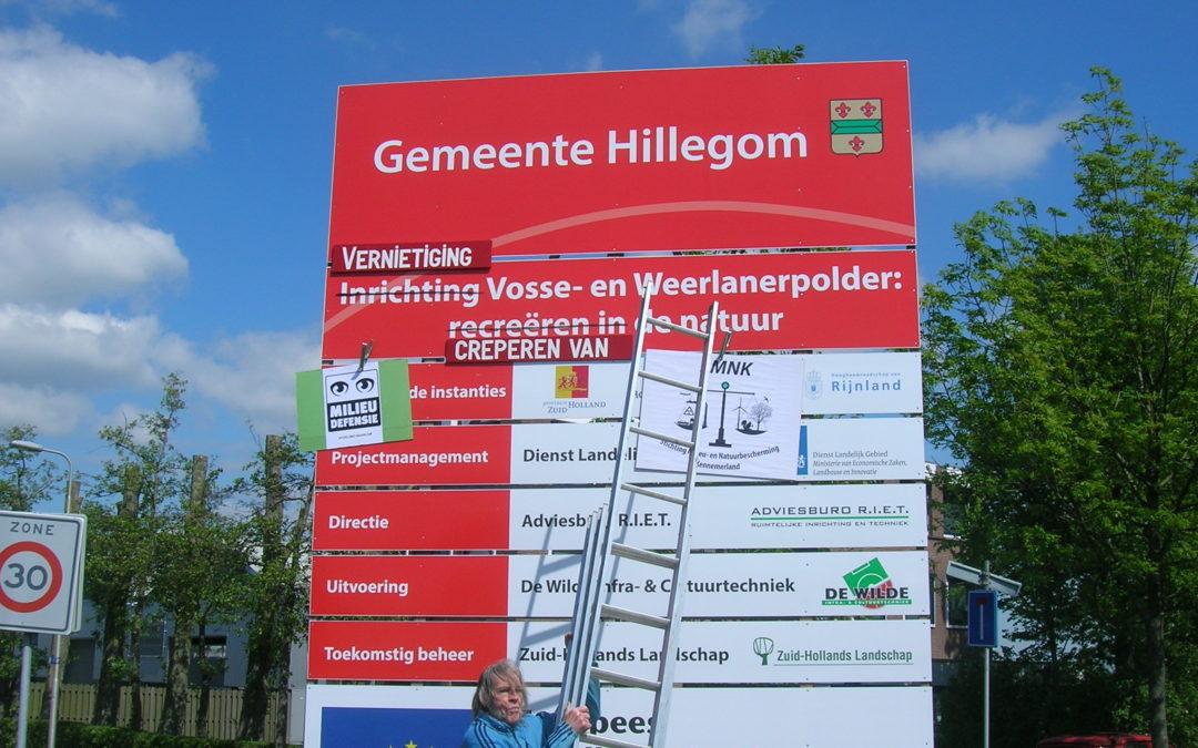 Haarlemse milieu-organisaties wijzigen waanzinnige Poldertekst
