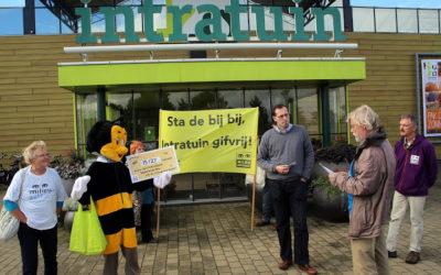 Ook bijengif-actie bij Intratuin Haarlem-Cruquius