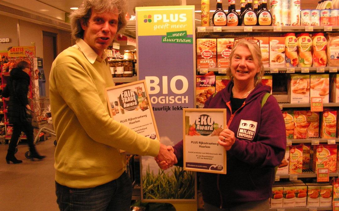 PLUS, meeste EKO en Fairtrade in N-Holland