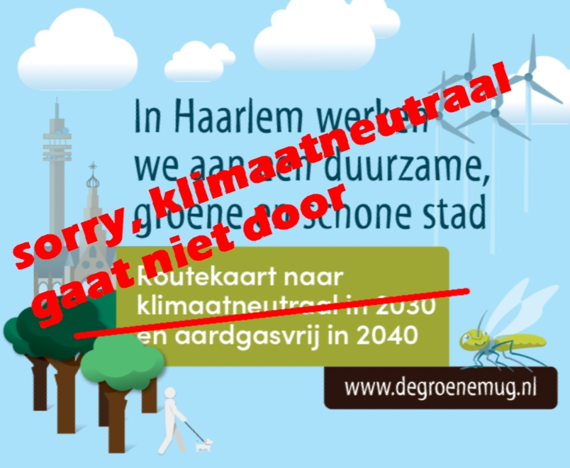Haarlem klimaatneutraal 2030 verkwanseld