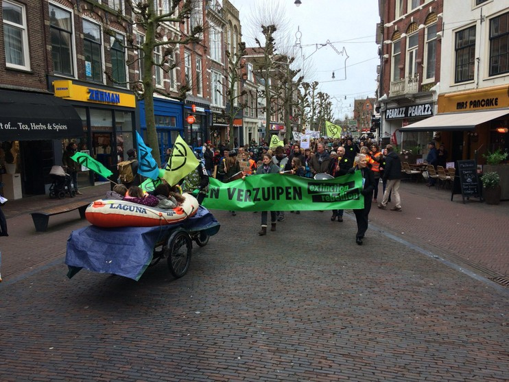 Eerste klimaatmars Haarlem