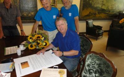 Gemeente Haarlem ondertekent Bijen-convenant