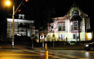 Steeds meer gevelverlichting 's nachts uit in Haarlem