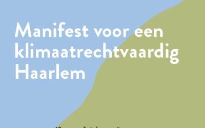 Manifest voor een klimaatrechtvaardig Haarlem